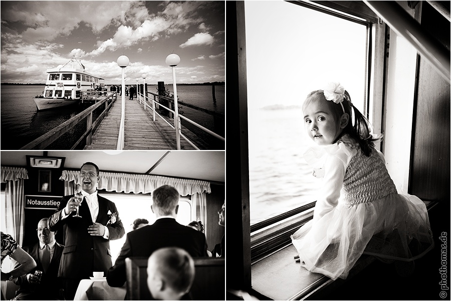 Hochzeitsfotograf Bad Zwischenahn: Trauung auf einem Schiff der weissen Flotte auf dem Bad Zwischenahner Meer (4)