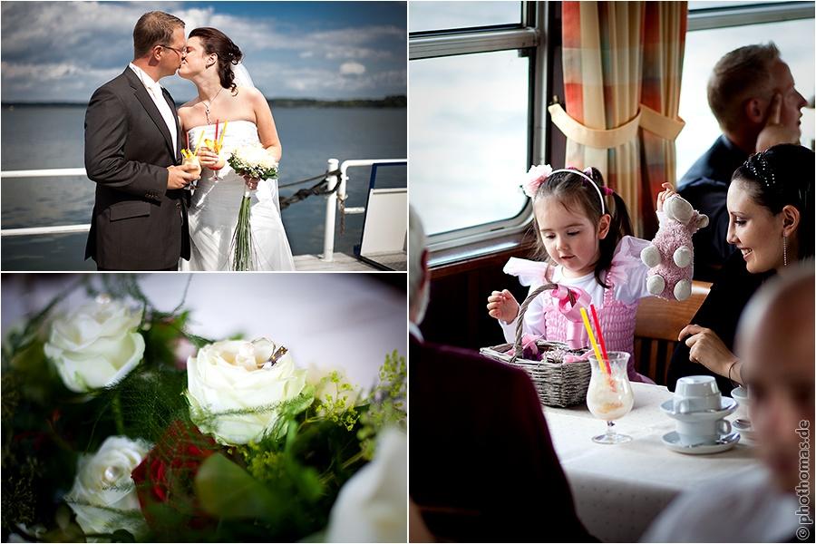 Hochzeitsfotograf Bad Zwischenahn: Trauung auf einem Schiff der weissen Flotte auf dem Bad Zwischenahner Meer (5)