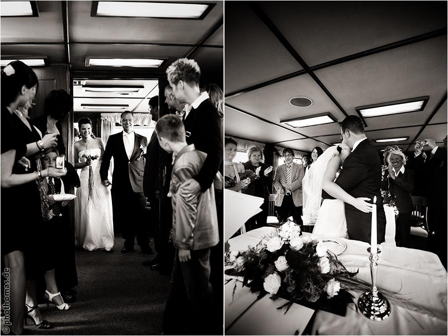 Hochzeitsfotograf Bad Zwischenahn: Trauung auf einem Schiff der weissen Flotte auf dem Bad Zwischenahner Meer (6)