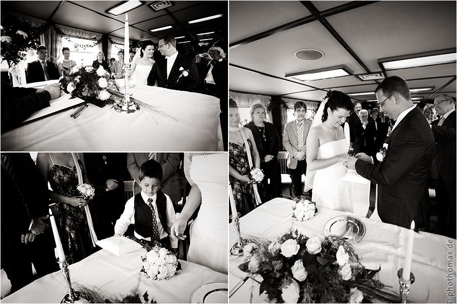 Hochzeitsfotograf Bad Zwischenahn: Trauung auf einem Schiff der weissen Flotte auf dem Bad Zwischenahner Meer (7)