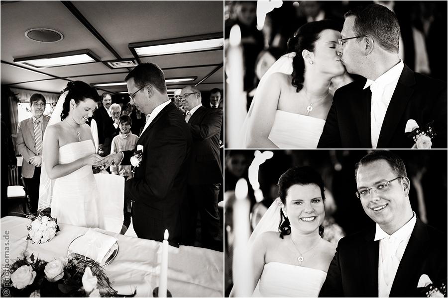 Hochzeitsfotograf Bad Zwischenahn: Trauung auf einem Schiff der weissen Flotte auf dem Bad Zwischenahner Meer (8)