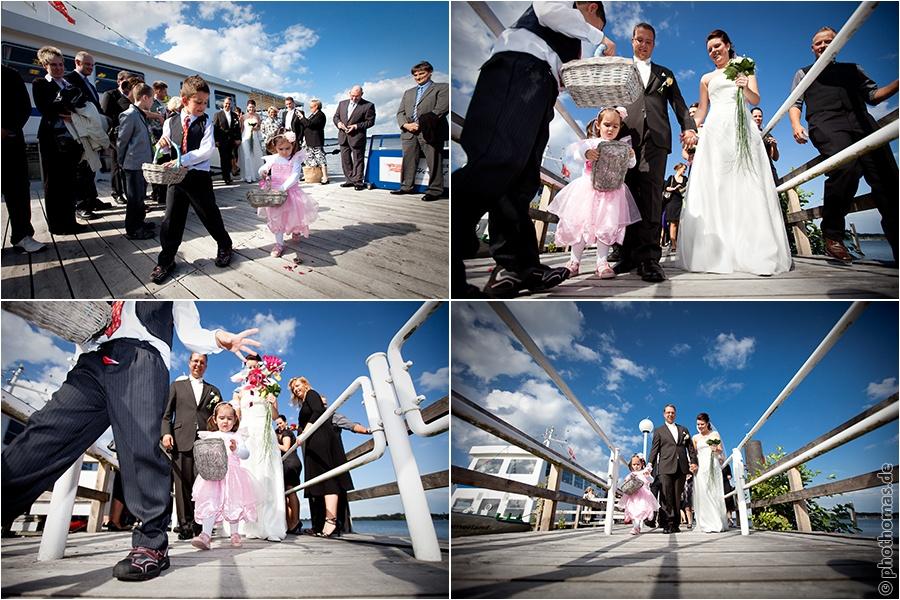 Hochzeitsfotograf Bad Zwischenahn: Trauung auf einem Schiff der weissen Flotte auf dem Bad Zwischenahner Meer (10)