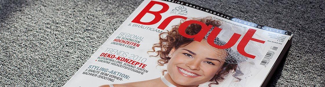 """Empfehlung als Foto-Profi vom """"Braut""""-Magazin"""