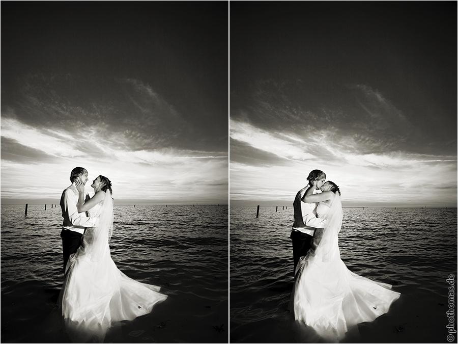 Hochzeitsfotograf Oldenburg: After Wedding Shooting für schöne Hochzeitsportraits am Strand der Nordsee (20)
