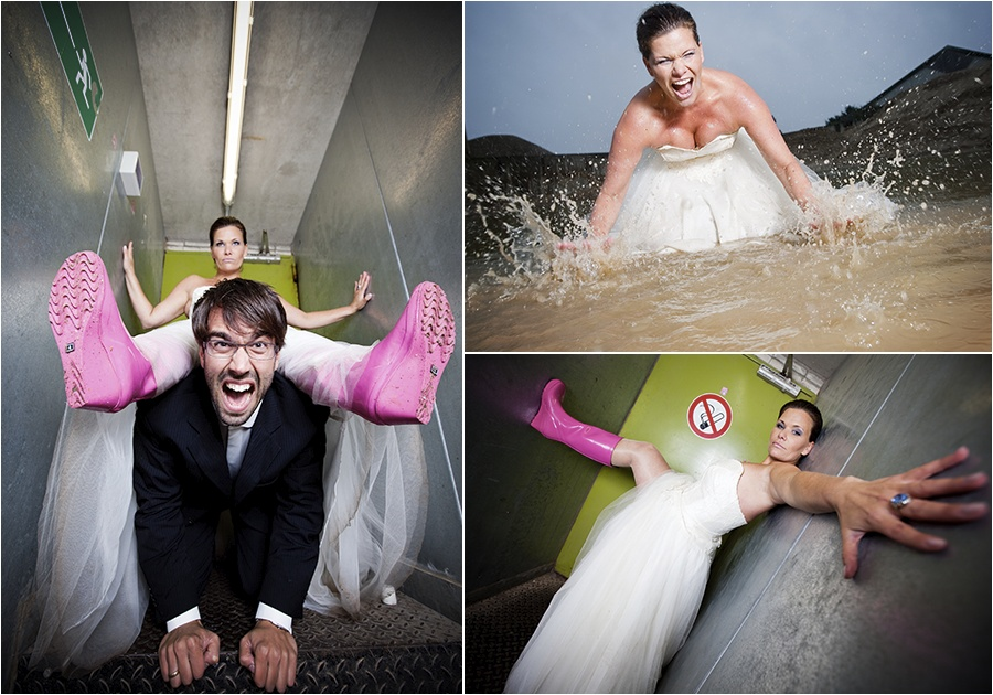 Hochzeitsfotograf Oldenburg: Trash the Dress Shooting im Olantis Huntebad Oldenburg (8)