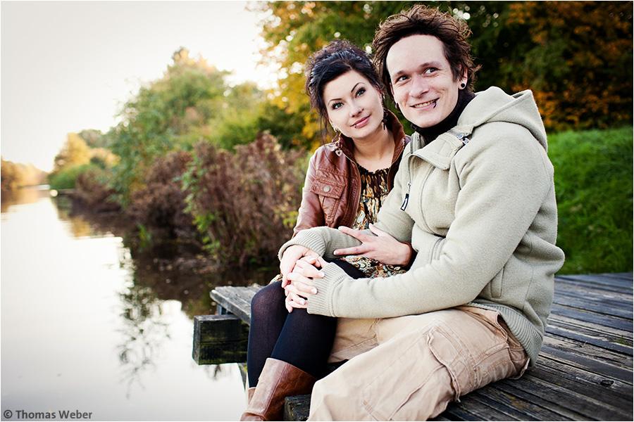 Hochzeitsfotograf Oldenburg: Engagement-Shooting und Hochzeitsfotos eines Hochzeitspaares (1)