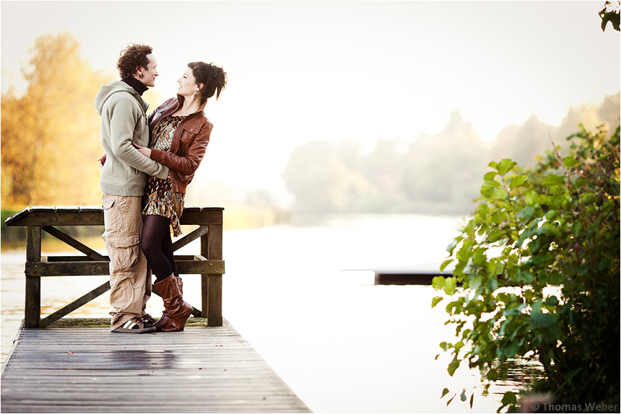 Hochzeitsfotograf Oldenburg: Engagement-Shooting und Hochzeitsfotos eines Hochzeitspaares (8)