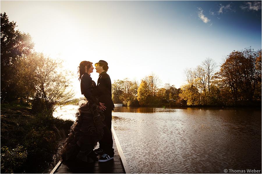 Hochzeitsfotograf Oldenburg: Engagement-Shooting und Hochzeitsfotos eines Hochzeitspaares (11)
