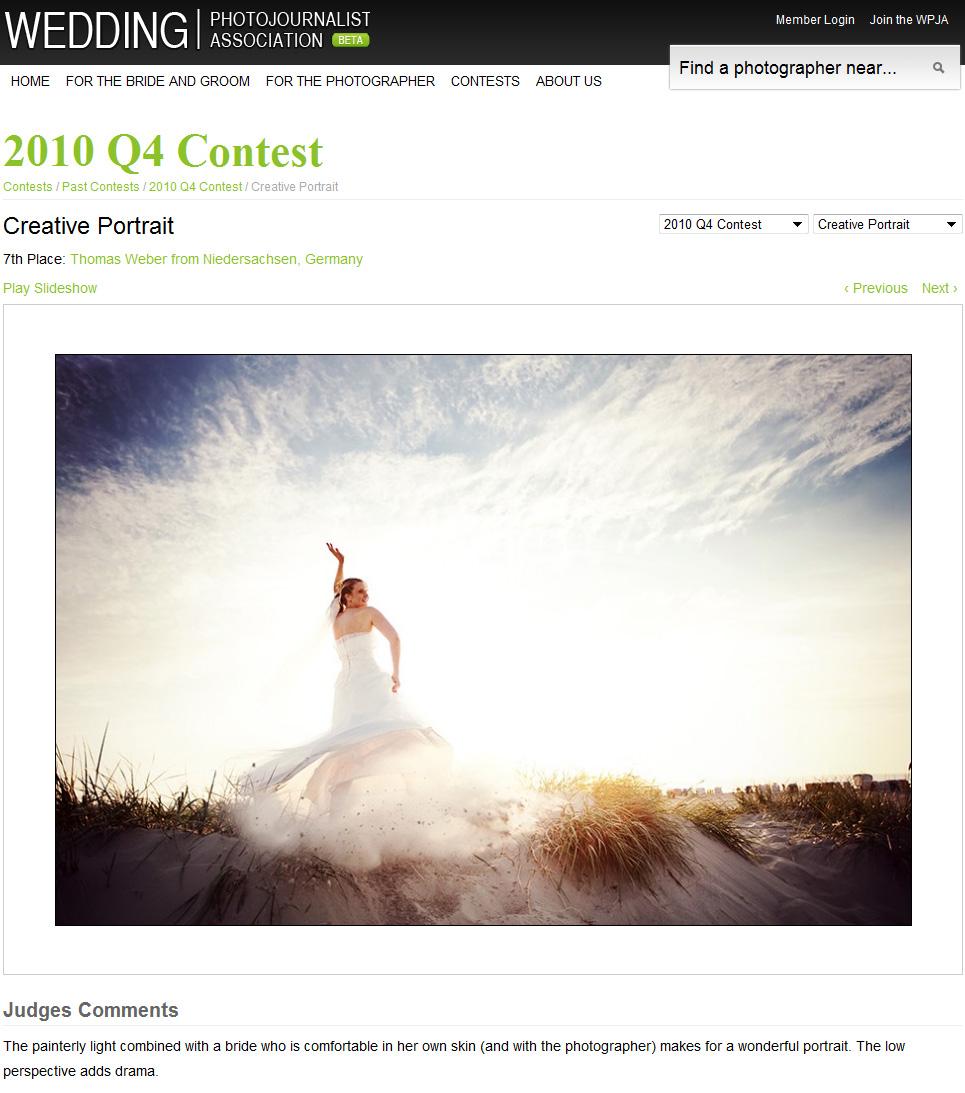 Hochzeitsfotograf Oldenburg: Gewinnerbilder bei den internationalen Fotowettbewerben der Wedding Photojournalist Association (WPJA) (2)