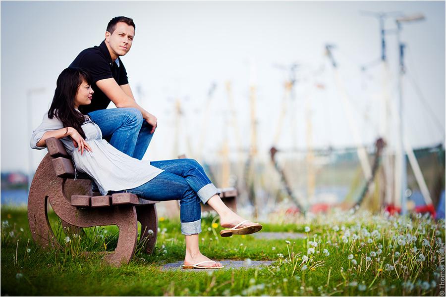 Hochzeitsfotograf Oldenburg: Verlobungs- und Engagement-Fotos am Strand von Greetsiel und Norddeich (3)