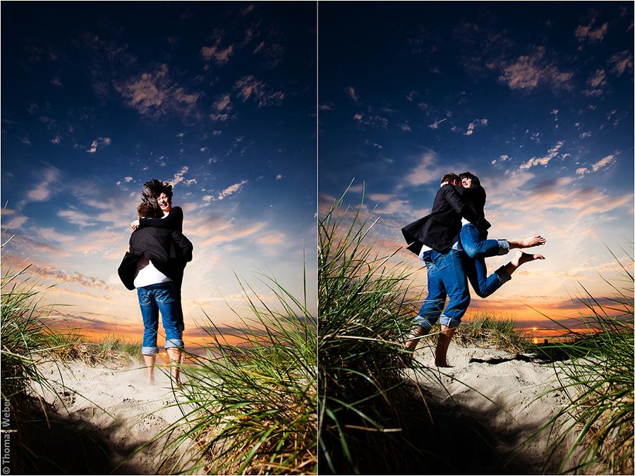 Hochzeitsfotograf Oldenburg: Verlobungs- und Engagement-Fotos am Strand von Greetsiel und Norddeich (12)
