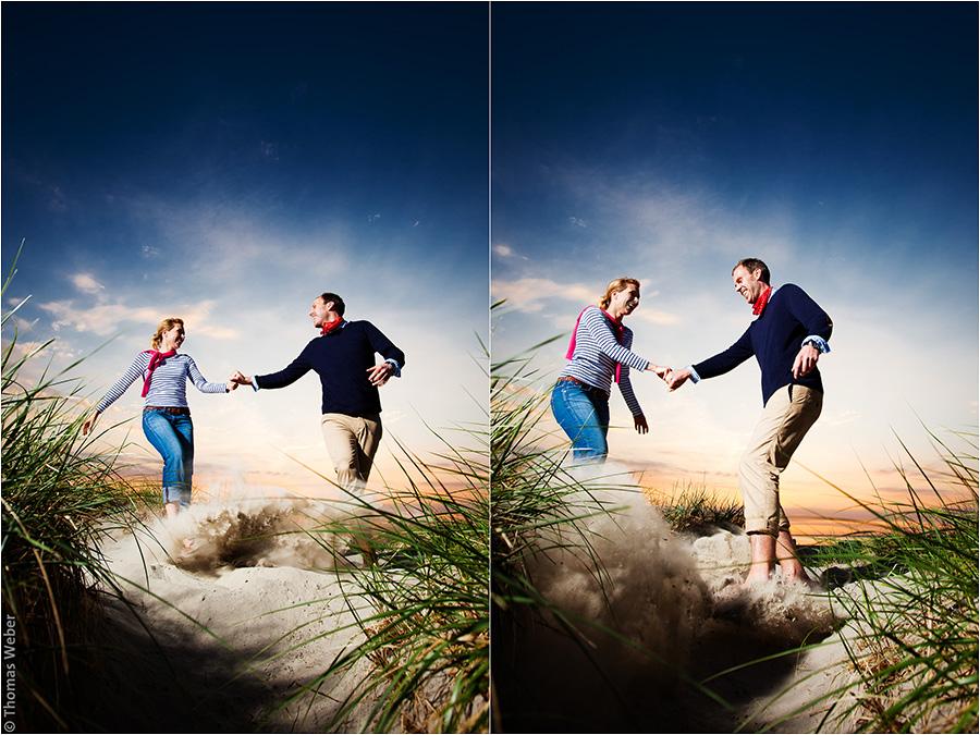 Hochzeitsfotograf Oldenburg: Verlobungs- und Engagement-Fotos am Strand von Greetsiel und Norddeich (18)