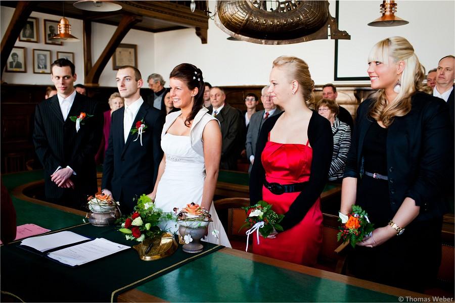 Hochzeitsfotograf Borkum: Hochzeit im Standesamt Borkum und Hochzeitsfeier im Strandhotel Hohenzollern (5)