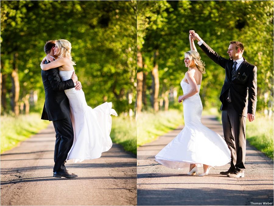 Hochzeitsfotograf Oldenburg: Hochzeitsportraits beim After-Wedding-Shooting in der Natur und am Strand von Dangast (2)