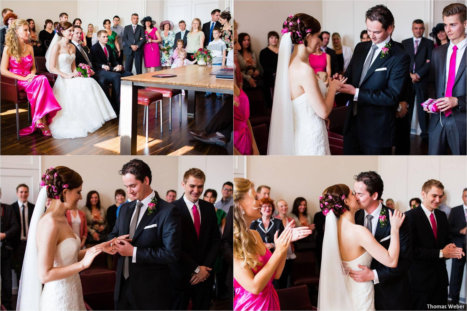 Russische Braut Hochzeit von