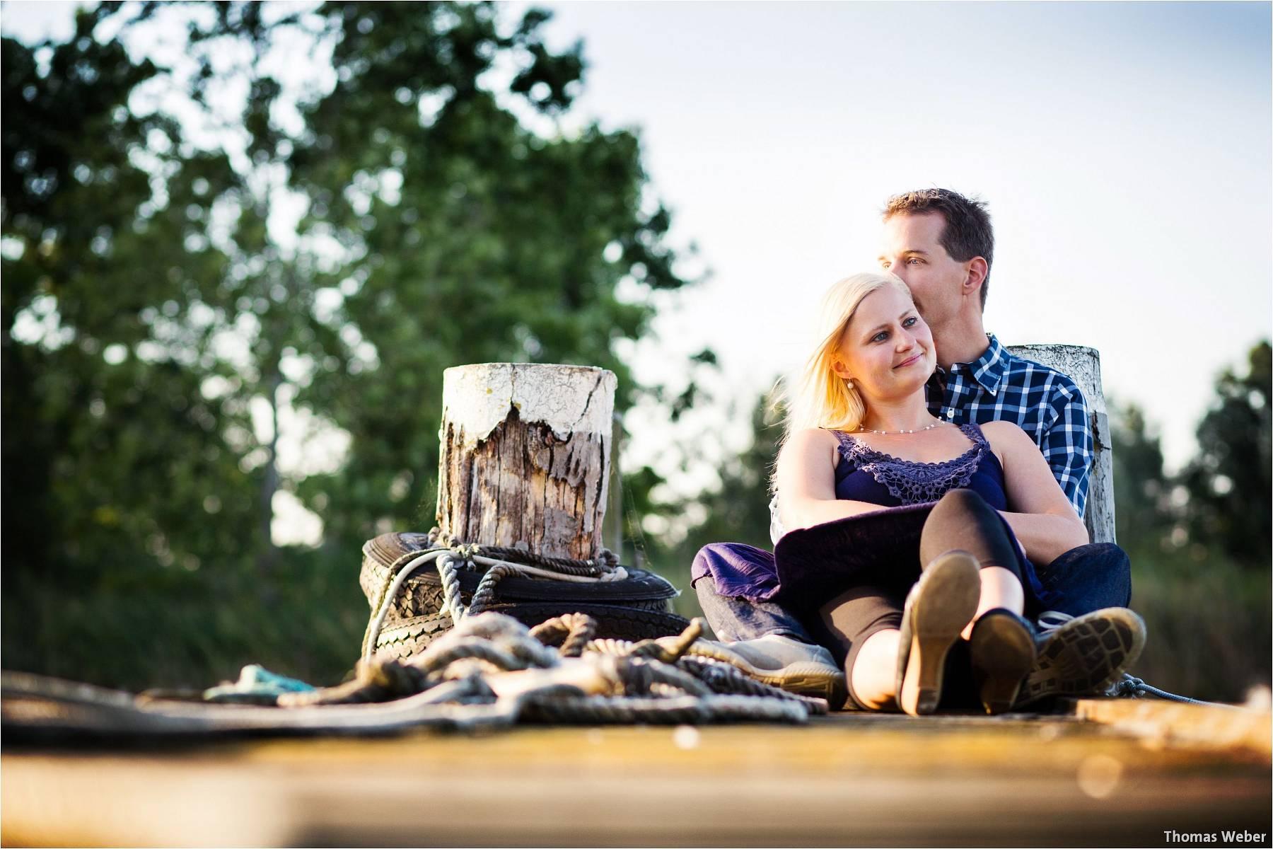 Hochzeitsfotograf Oldenburg: Engagement-Verlobungs-Paarfotos am Strand von Dangast/Varel an der Nordsee (4)