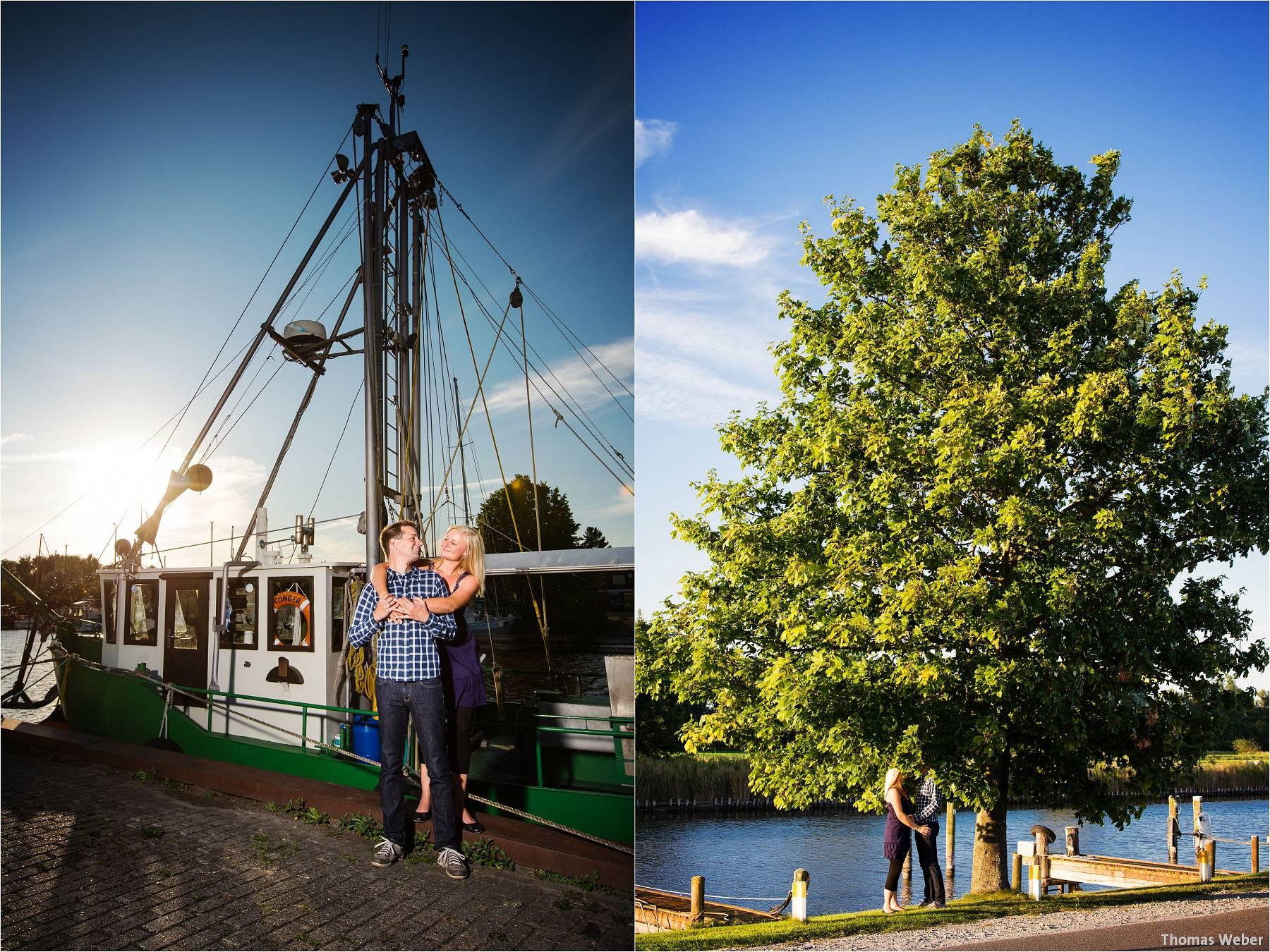 Hochzeitsfotograf Oldenburg: Engagement-Verlobungs-Paarfotos am Strand von Dangast/Varel an der Nordsee (5)