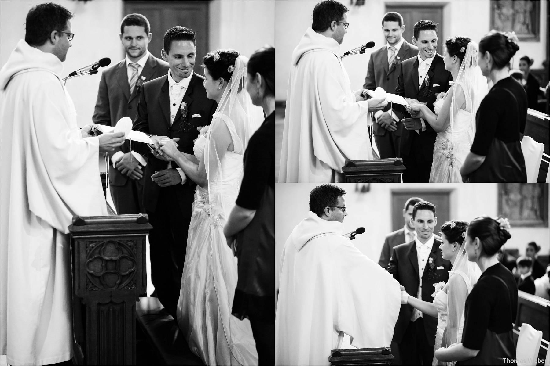Hochzeitsfotograf Bremen: Kirchliche Trauung in der Propsteikirche St. Johann im Bremer Schnoor und Hochzeitsfeier bei Rogge Dünsen (10)