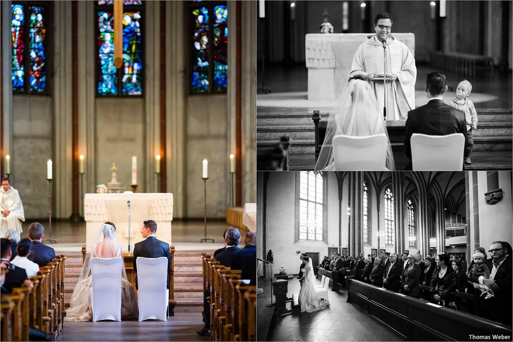 Hochzeitsfotograf Bremen: Kirchliche Trauung in der Propsteikirche St. Johann im Bremer Schnoor und Hochzeitsfeier bei Rogge Dünsen (12)