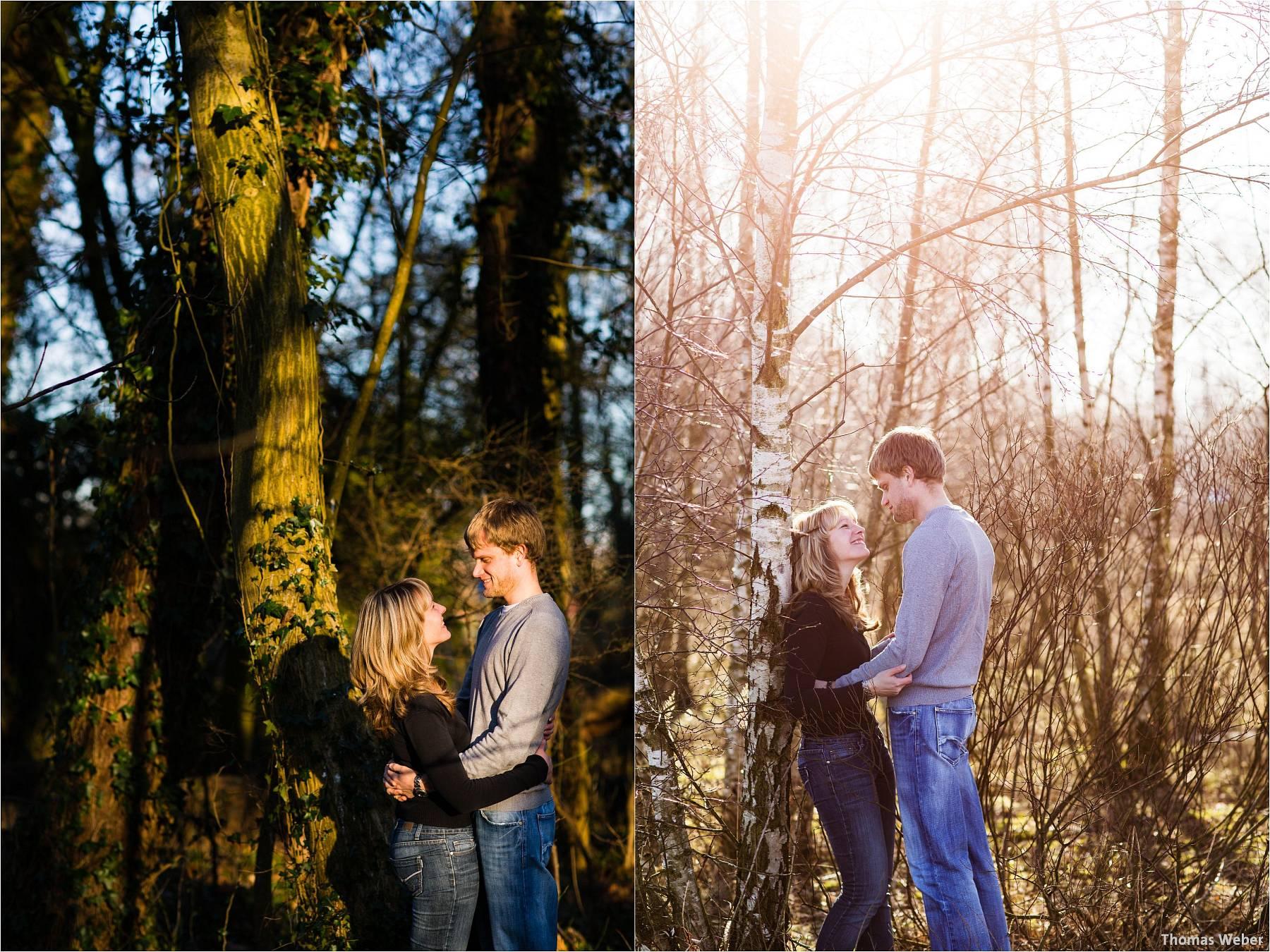 Hochzeitsfotograf Wilhelmshaven: Engagement- und Verlobungsfotos für die Einladungskarten der Hochzeit (3)