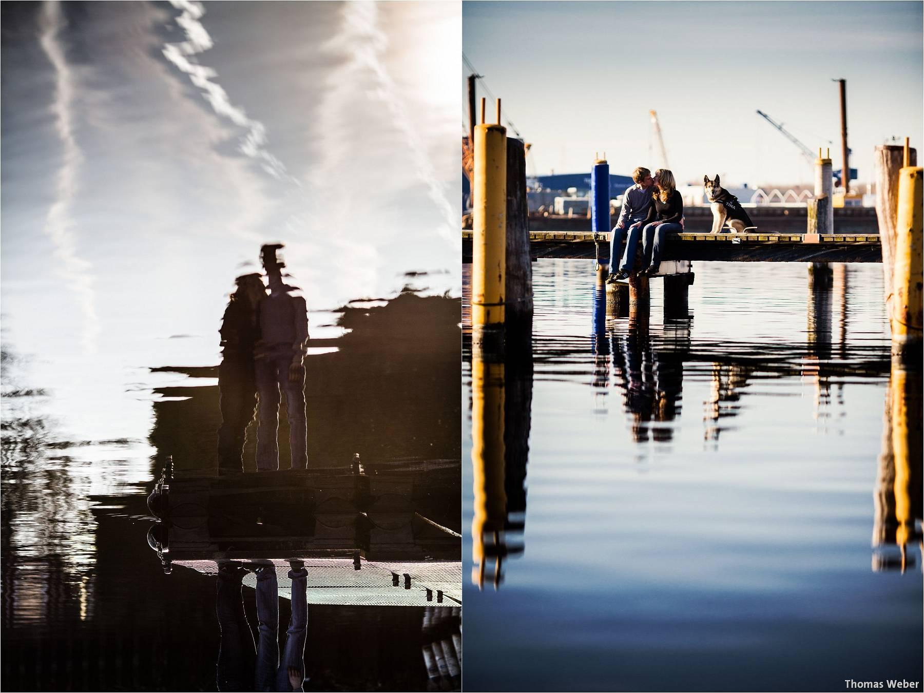 Hochzeitsfotograf Wilhelmshaven: Engagement- und Verlobungsfotos für die Einladungskarten der Hochzeit (7)