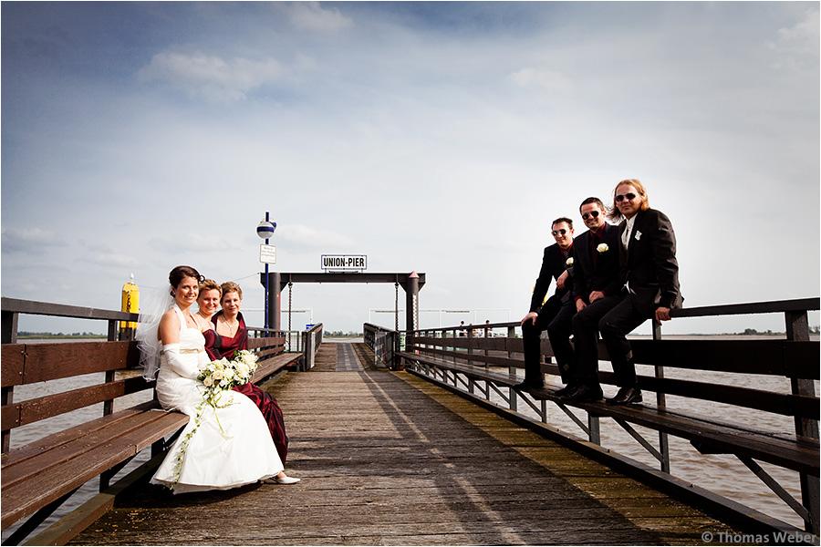 Hochzeitsfotograf Oldenburg: Hochzeit in Nordenham und Esensham (6)