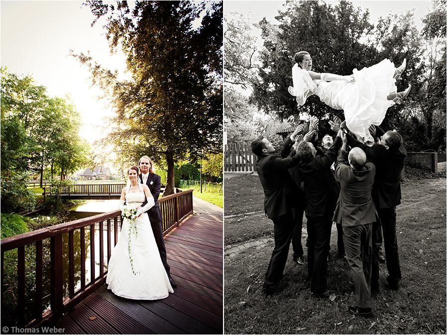 Hochzeitsfotograf Oldenburg: Hochzeit in Nordenham und Esensham (2)