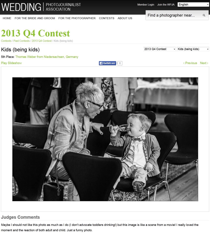 Gute Platzierungen bei den internationalen Fotowettbewerben der WPJA