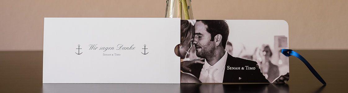 Einladungs- und Danksagungskarten von CHILIPFEFFERdesign aus Oldenburg