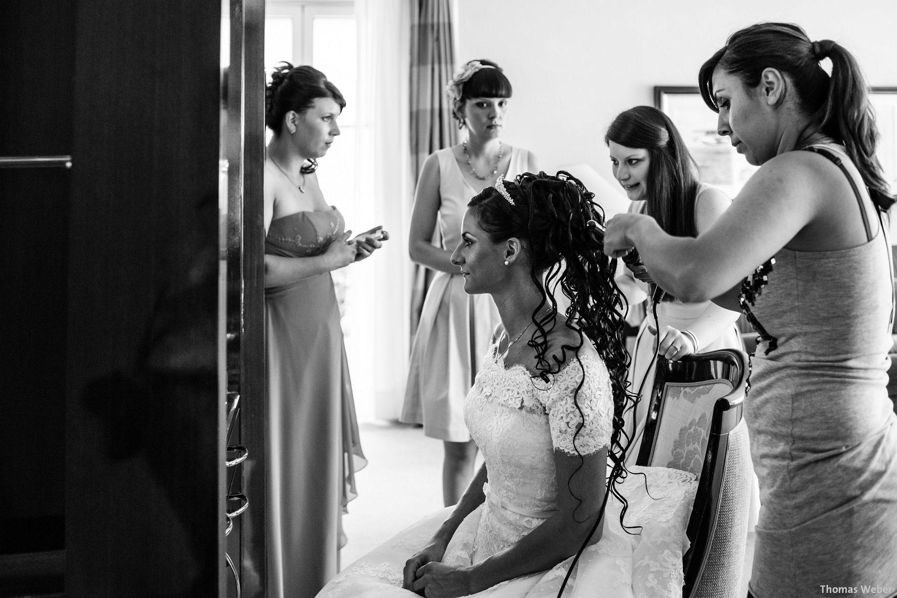 Hochzeitsfotograf Thomas Weber aus Oldenburg im Dorint Parkhotel Bremen