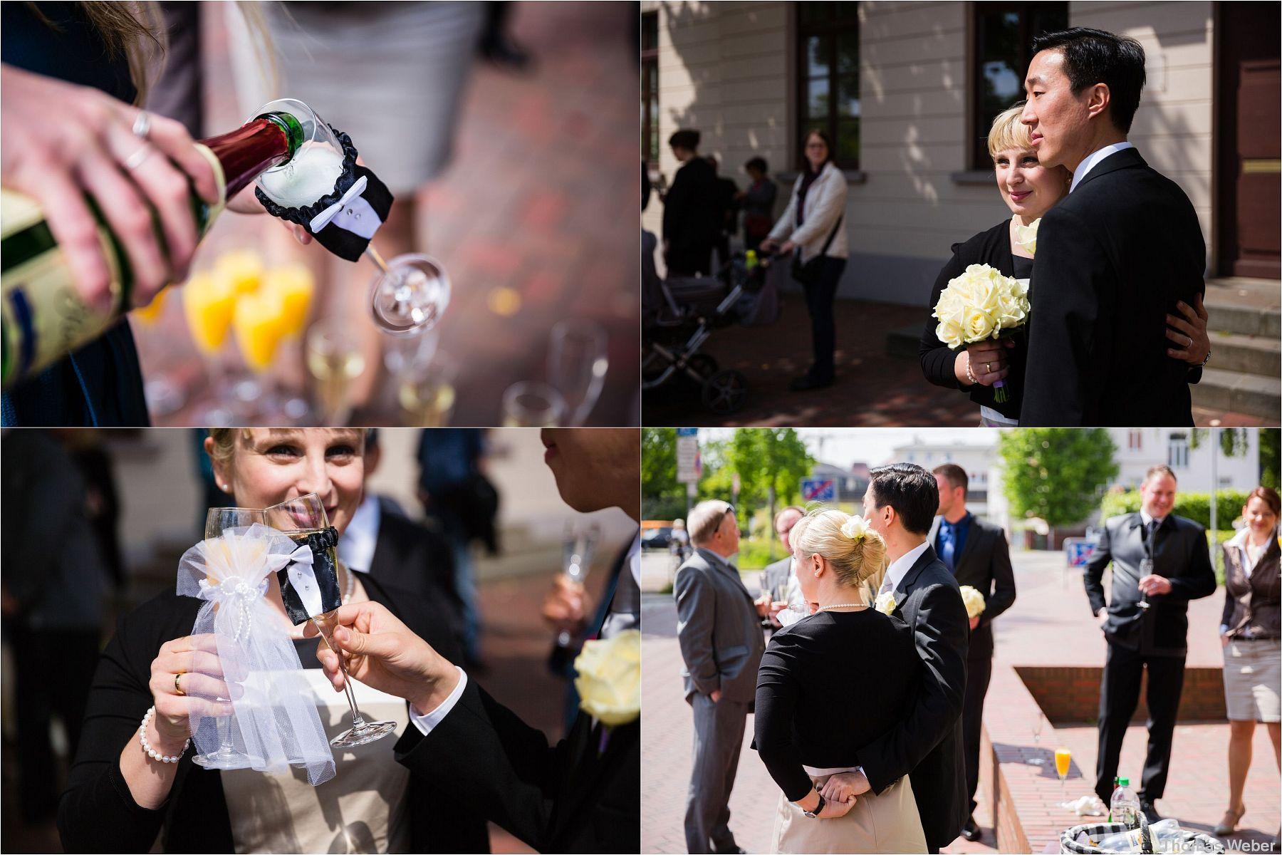 Hochzeit im Standesamt am Pferdemarkt in Oldenburg, Hochzeitsfotograf Oldenburg, Thomas Weber