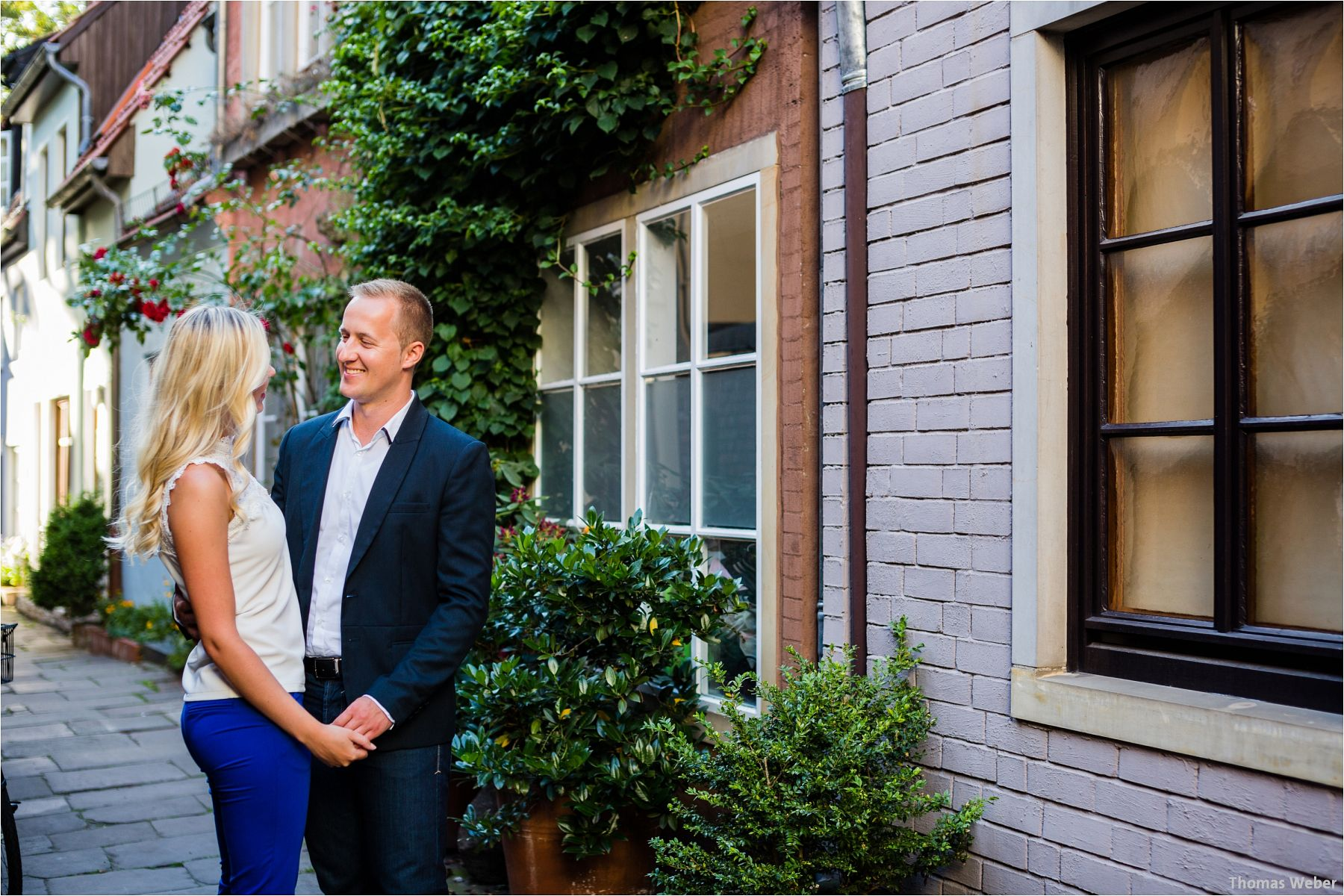Hochzeitsfotograf Thomas Weber aus Oldenburg: Engagement-Shooting in Bremen
