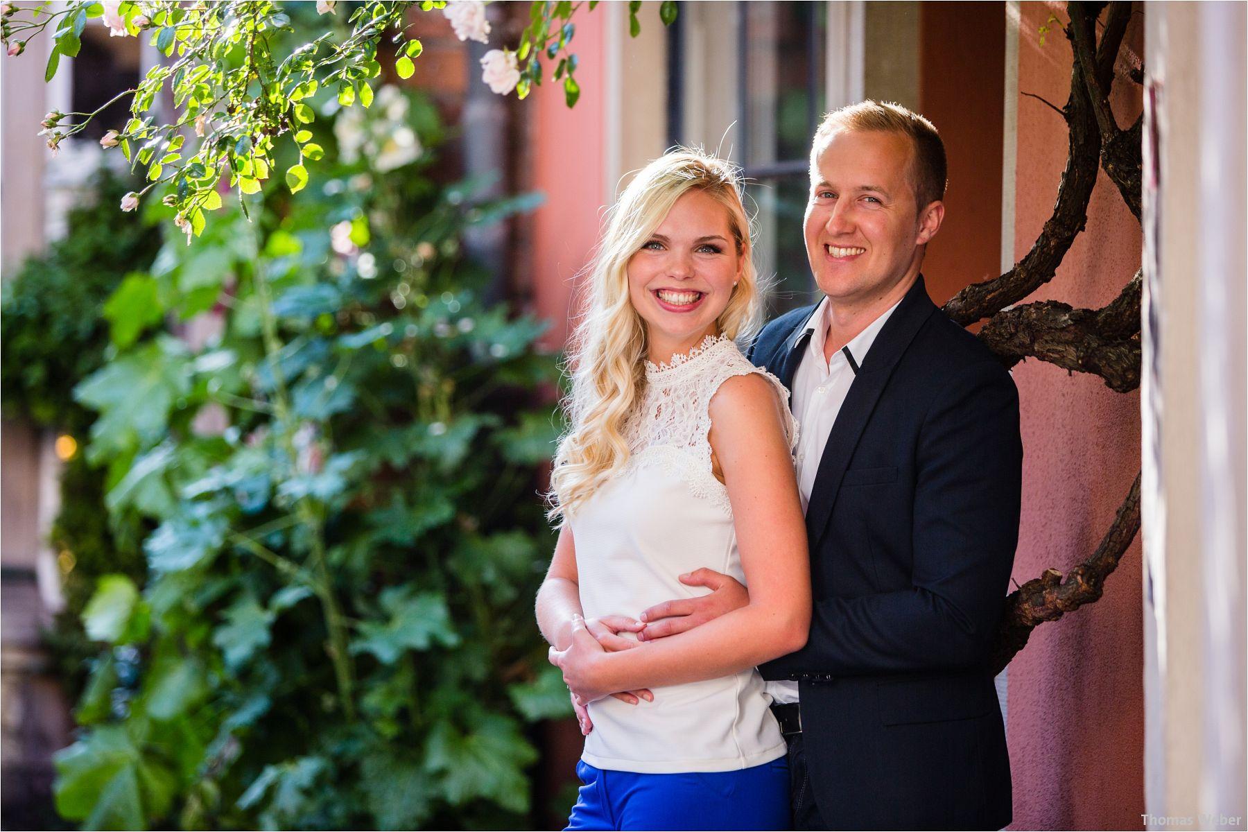 Hochzeitsfotograf thomas weber aus oldenburg engagement fotos und paarfotos eines angehenden hochzeitspaares