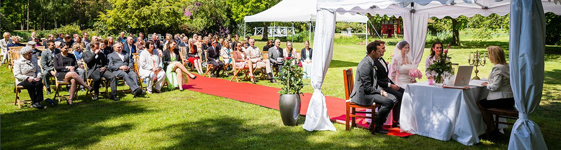 Hochzeit auf dem Gut Sandheide