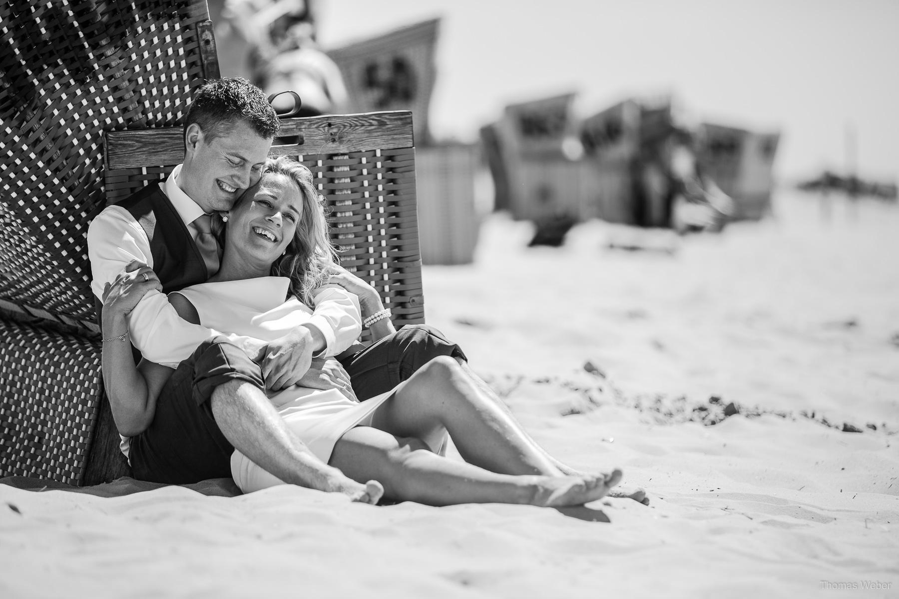 Hochzeitsfotos auf Langeoog vom Hochzeitsfotograf Langeoog, Thomas Weber