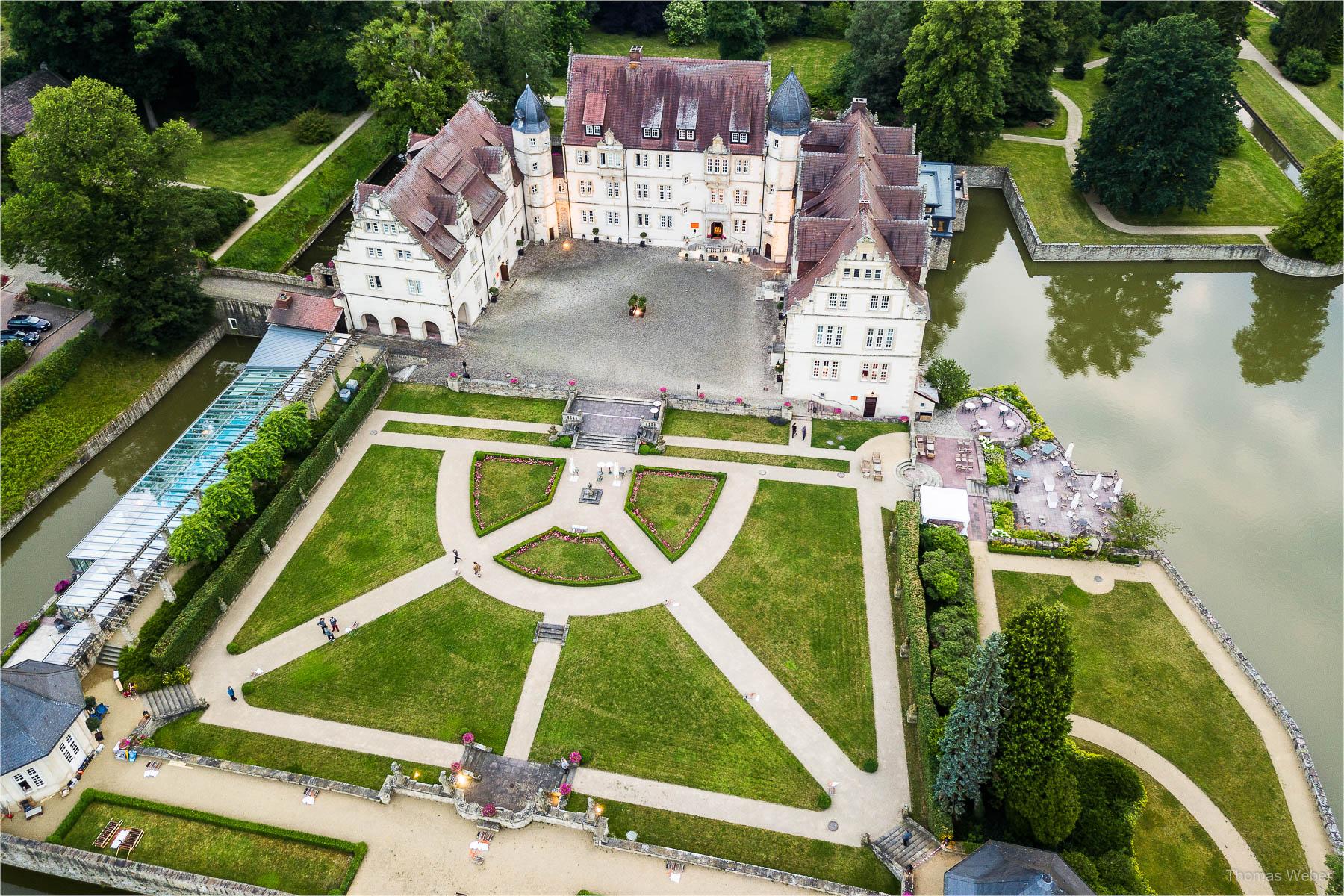 Hochzeitsfotograf im Schlosshotel Münchhausen in Aerzen, Hochzeitsfotograf Thomas Weber aus Oldenburg