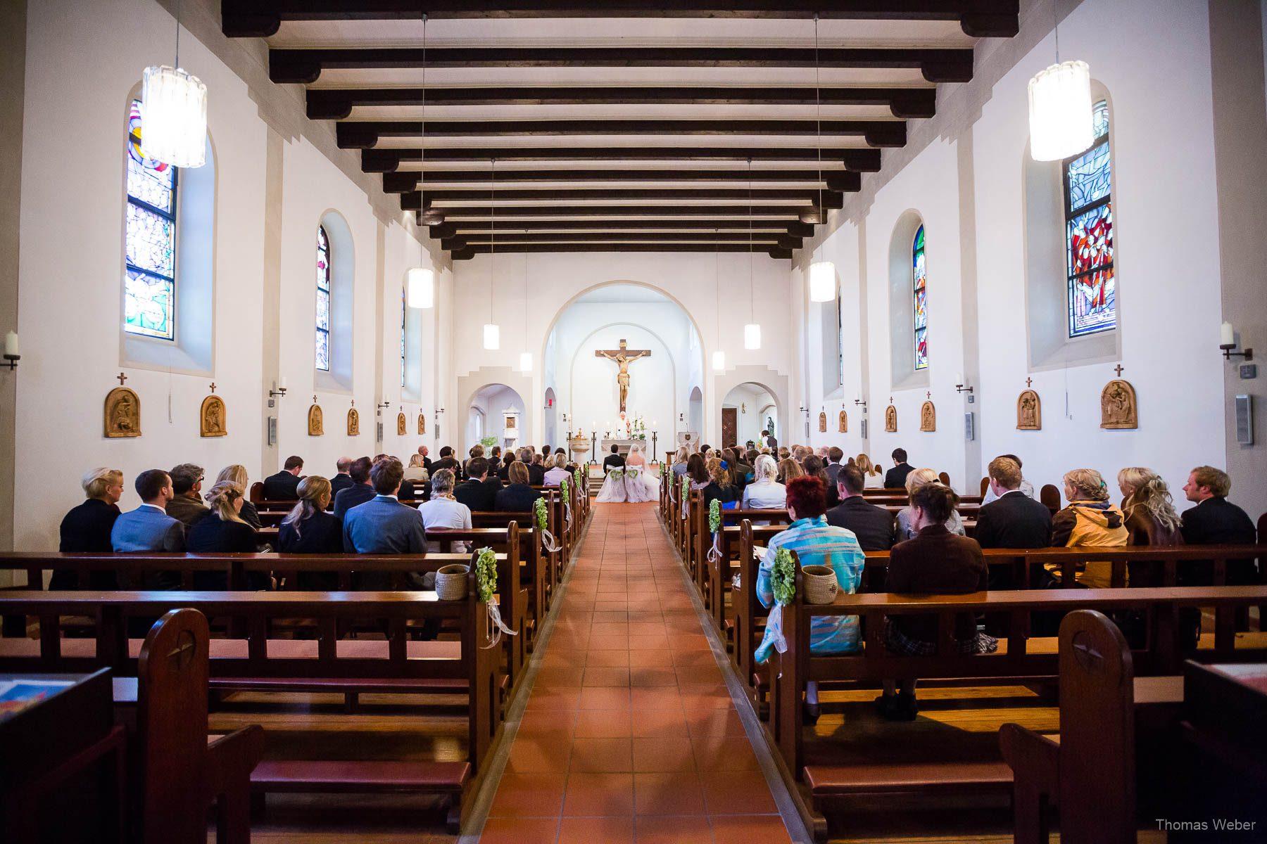 Hochzeitsfotograf in Rastede: St.-Marien-Kirche