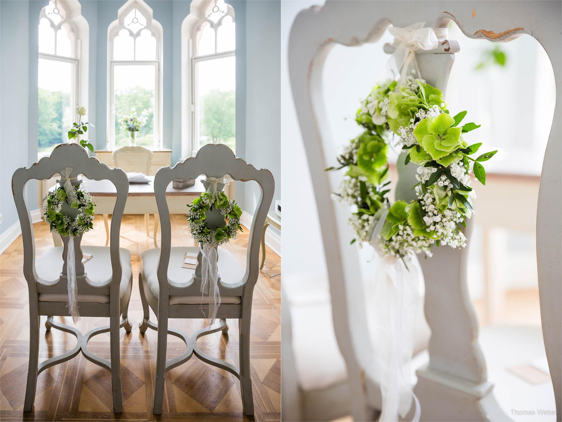 Hochzeitsfotograf bei einer Hochzeit auf Schloss Gamehl an der Ostsee: Der Morgen vor der Hochzeit