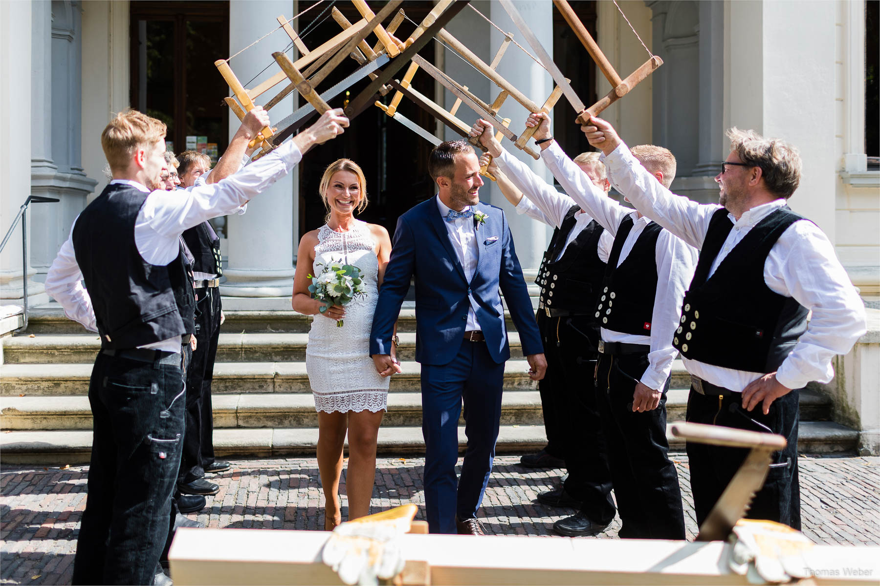 Standesamtliche Hochzeit im Palais Rastede, Hochzeitsfotograf Thomas Weber aus Oldenburg