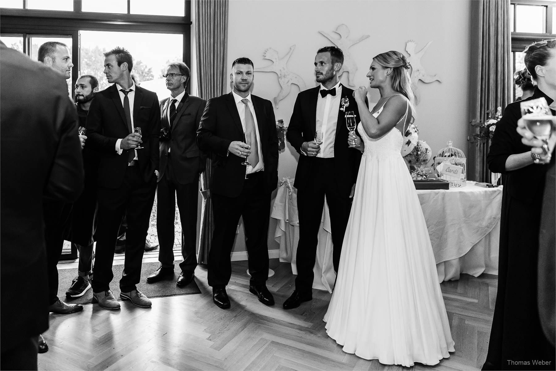 Freie Trauung und Hochzeitsfeier im Patentkrug Oldenburg, Hochzeitsfotograf Thomas Weber