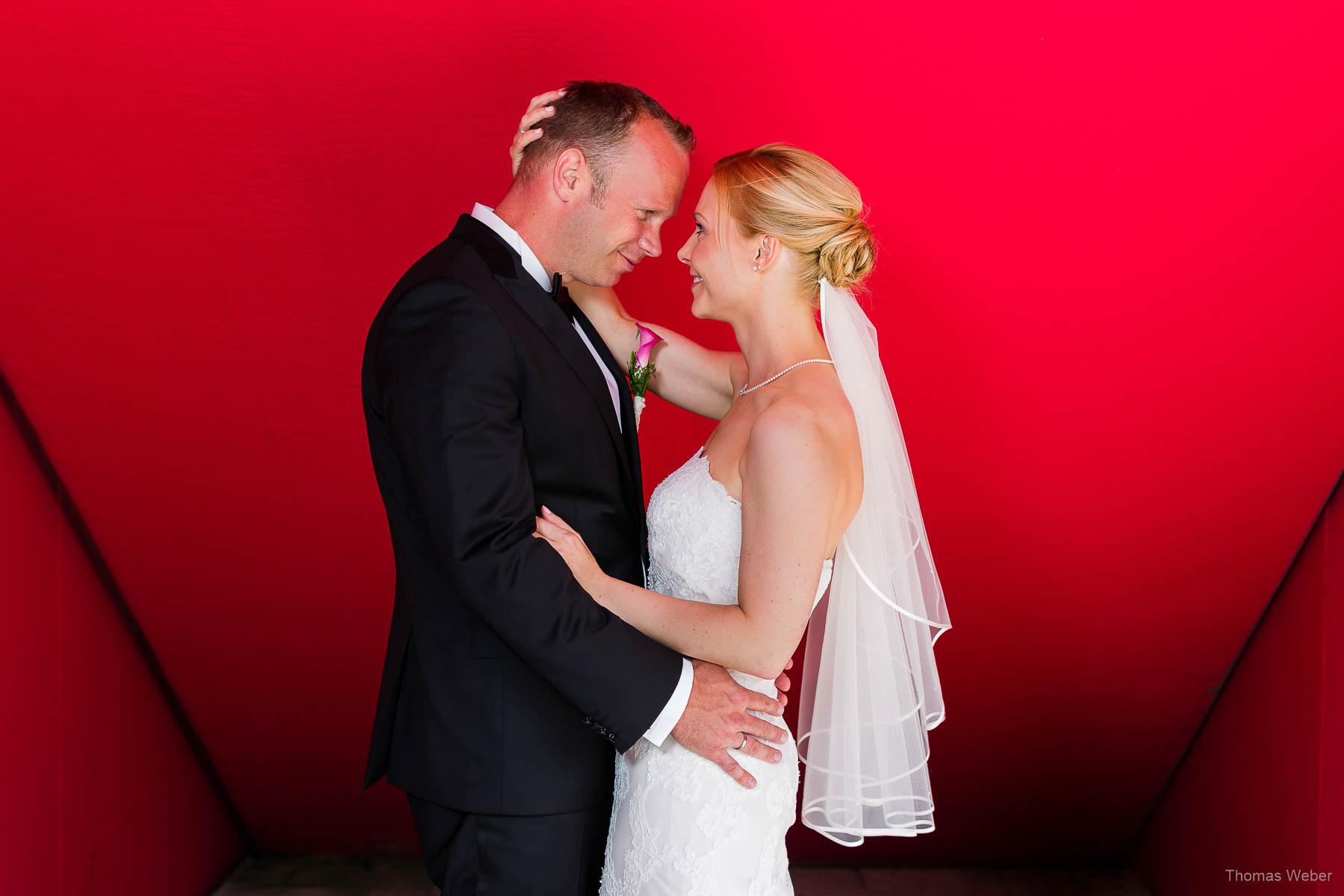 Fotografieren der Hochzeitsfotos in Oldenburg, Hochzeitsfotograf Thomas Weber